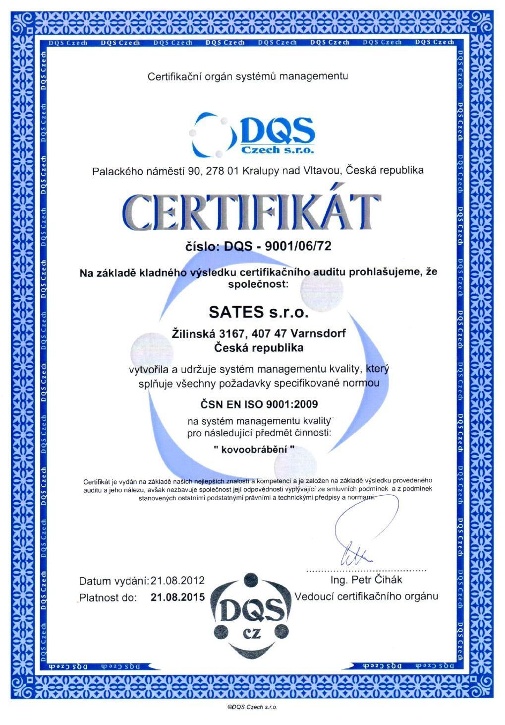 DQS ISO 2015